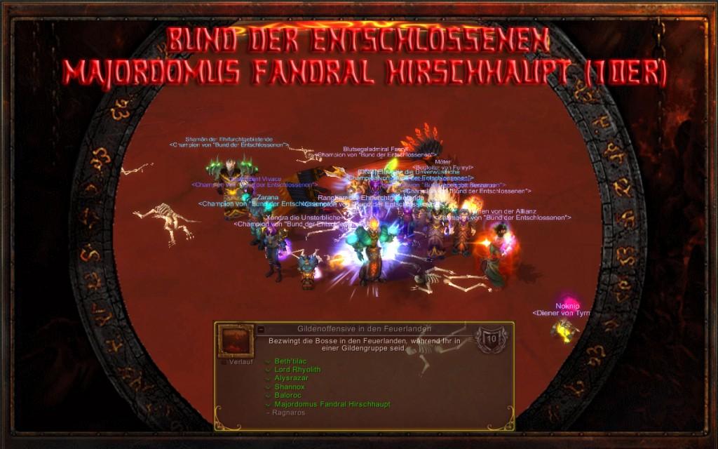 Majordomus Fendral Hirschhaupt 10er - Firstkill Bund der Entschlossenen