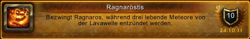 Ragnaröstis beim Firstkill von Ragnaros