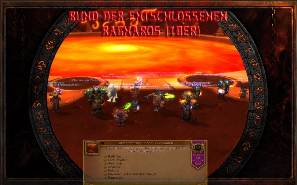 Firstkill Ragnaros 10er - Bund der Entschlossenen