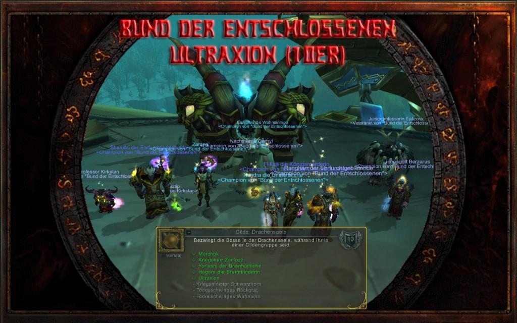 Ultraxion - Bund der Entschlossenen 10er